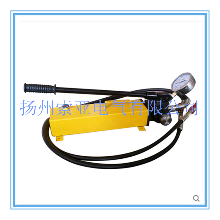 CP-700-D带压力表液压手动泵