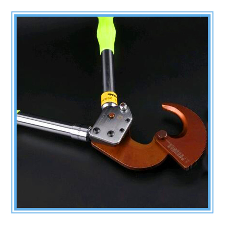 棘轮式电缆剪