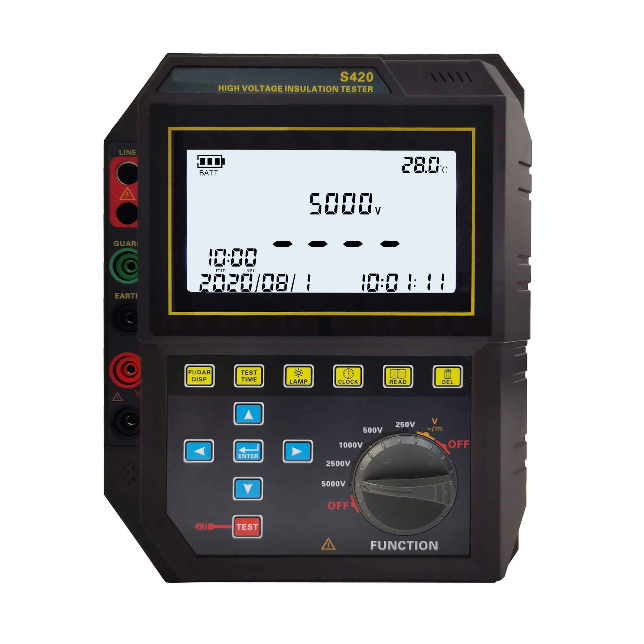 S420B绝缘电阻测试仪